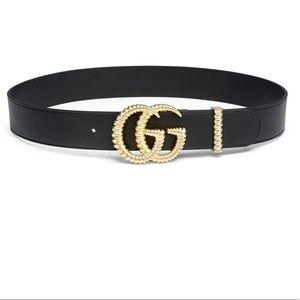 Gucci Moon Belt Textured GG